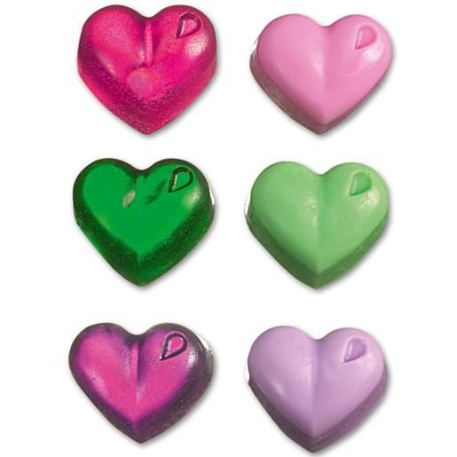 rosa/grønn/violett