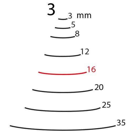 16 mm