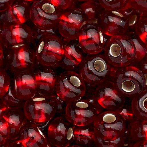 transparent vinrød
