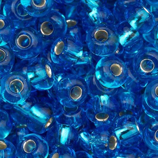 lysblå skimrende