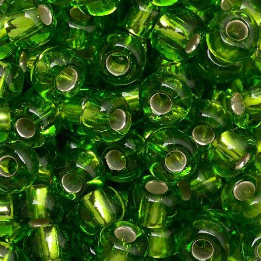 grønn skimrende