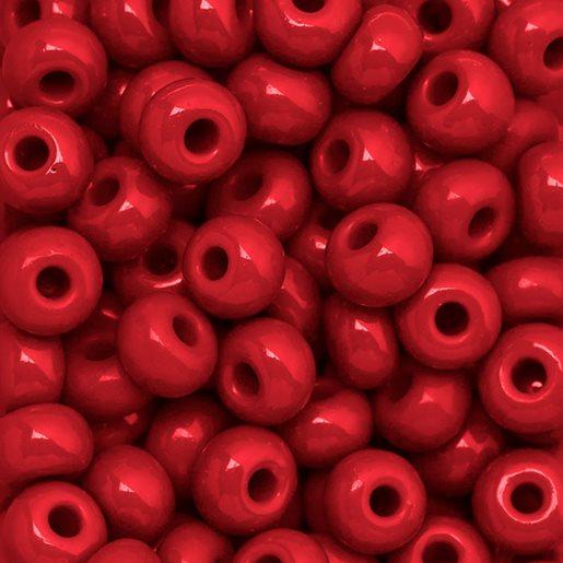 rød opak
