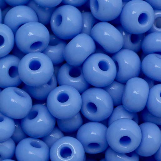 lys blå opak