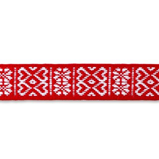 rød/hvit