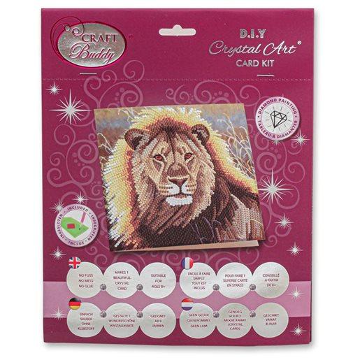 Diamond Painting Kit Resting Lion