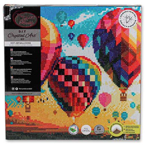 Diamond Painting Kit Canvas Hot Air Balloon