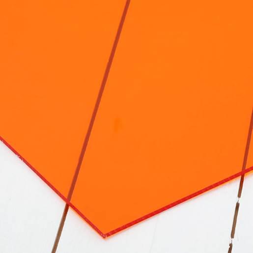 transparant oransje