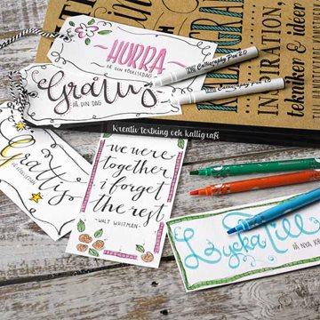 Teksting & Kalligrafi